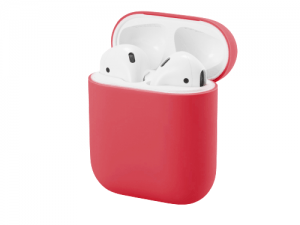 Coque airpods Rouge